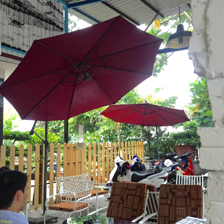 nhung mau o du quan cafe gia re doc dao tai ha noi - Những mẫu ô dù quán cafe giá rẻ và độc đáo tại Hà Nội